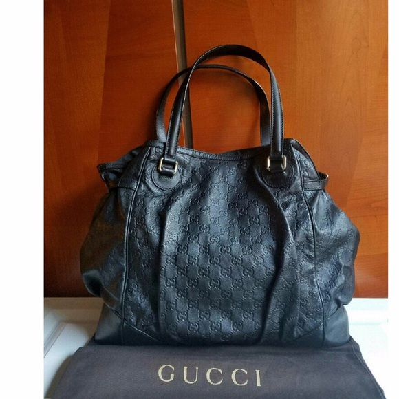 Gucci Handbags - LARGE GUCCI on GUCCISSIMA lamb leather cd3d11892b